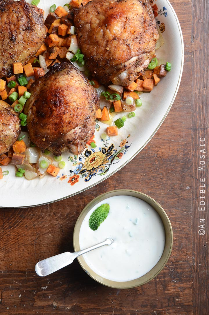 jerk-roasted-chicken-thighs-and-sweet-potato-dinner-with-creamy-honey-jalapeno-sauce-paleo-4