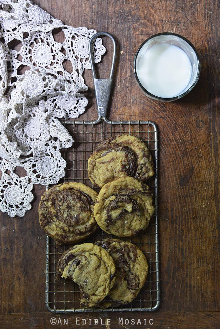 Peanut Butter Nutella Swirl Cookies 2