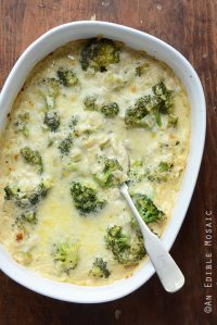 Low-Carb Broccoli and Cheese Casserole {Gluten-Free}
