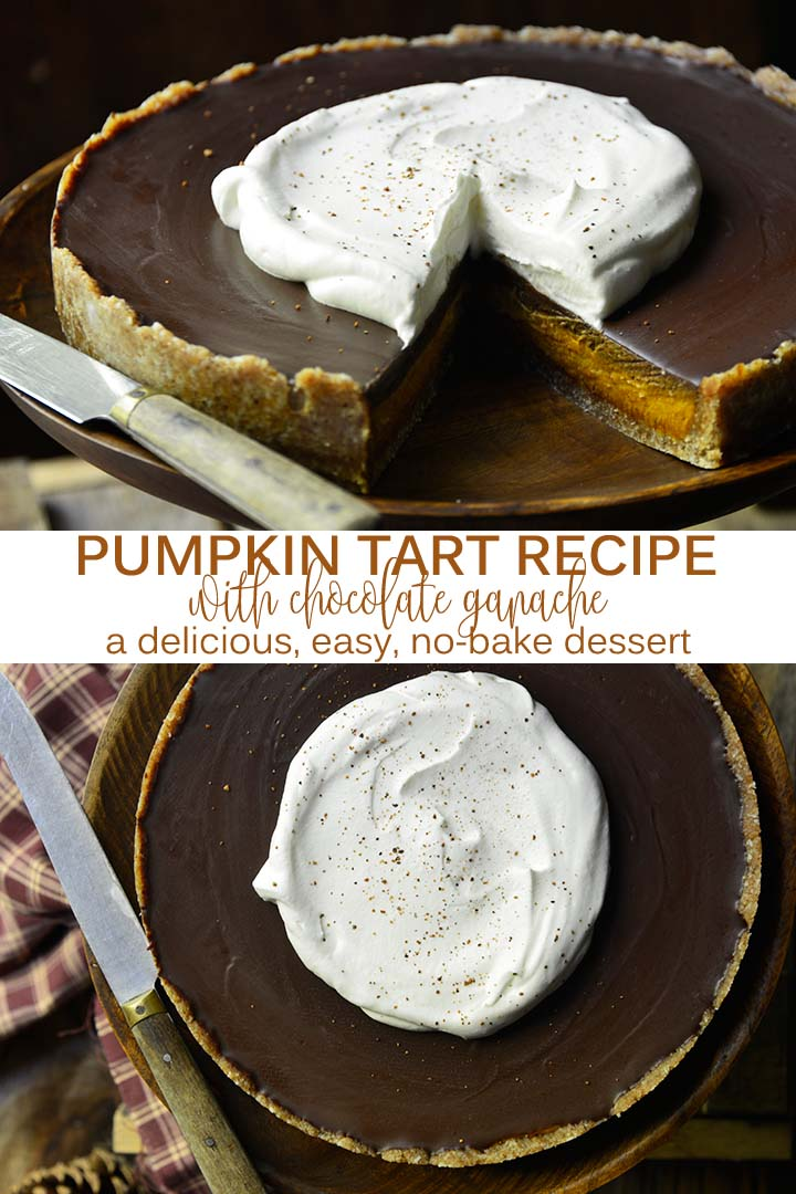 Pumpkin Tart Recipe Pin