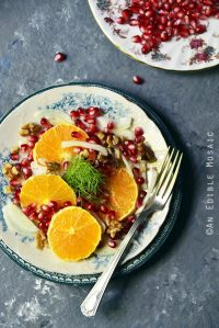 Winter Citrus Salad with Pomegranate and Fennel