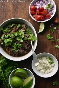 Coffee-Spiked Slow Cooker Beef Carnitas