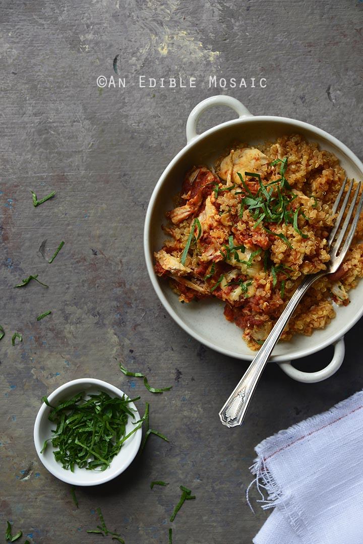 easy-5-ingredient-chicken-parmesan-quinoa-casserole-2