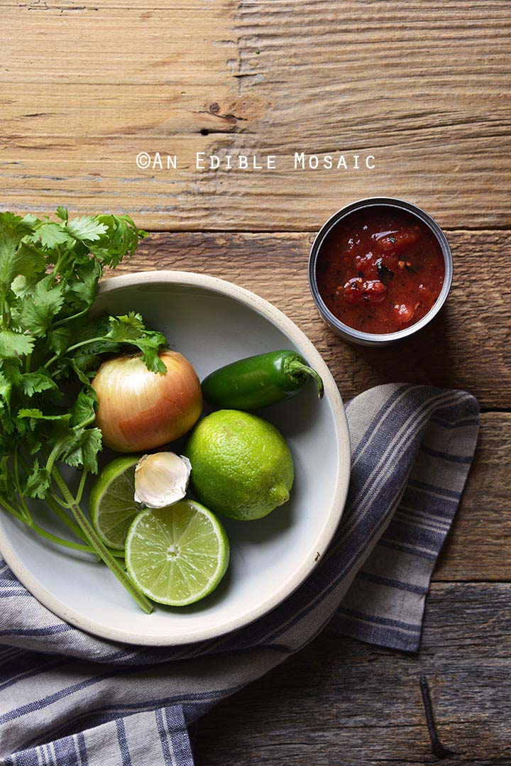 Ingredients for Restaurant Style Salsa Recipe