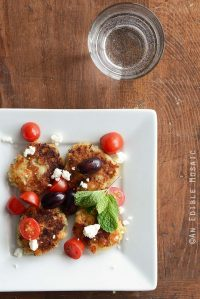 Parmesan and Garlic White Bean Patties {Gluten-Free}