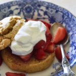 Gluten Free Strawberry Shortcake Recipe Close Up