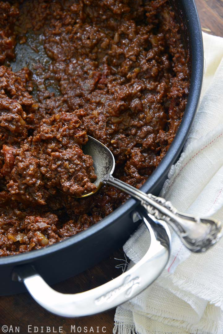 Beef Sauce for Moussaka