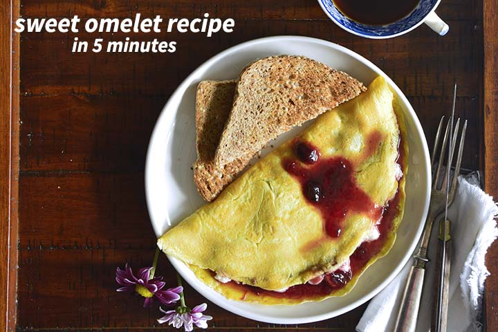 Sweet Omelette Recipe with Description