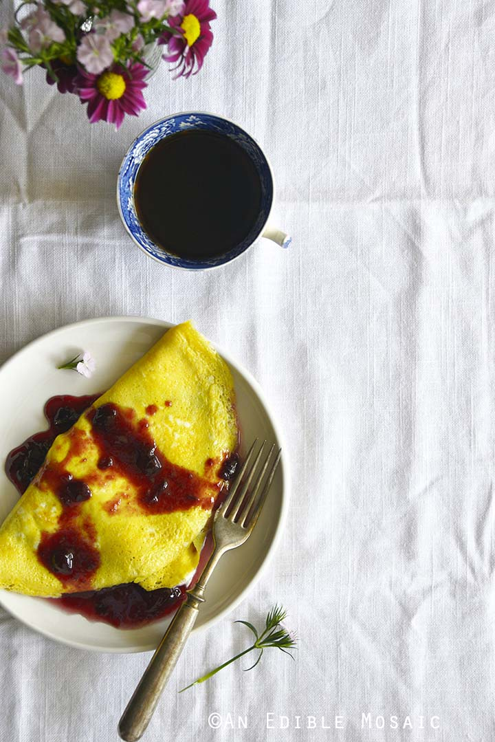 Sweet Omelette Recipe