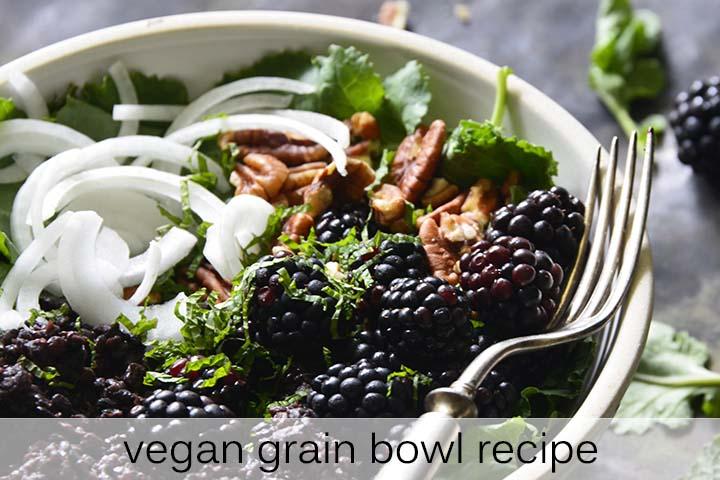 Vegan Grain Bowl Recipe with Description