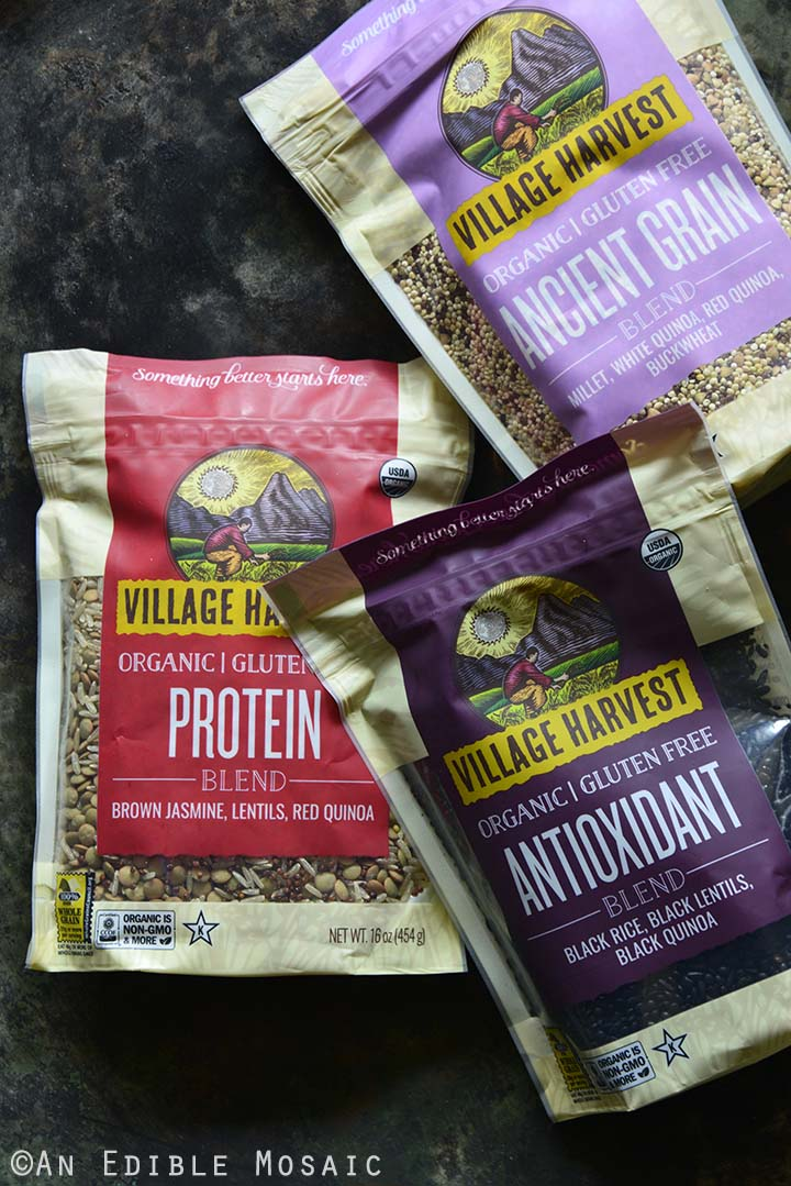 Village Harvest Organic Antioxidant, Protein, and Ancient Grain Blends