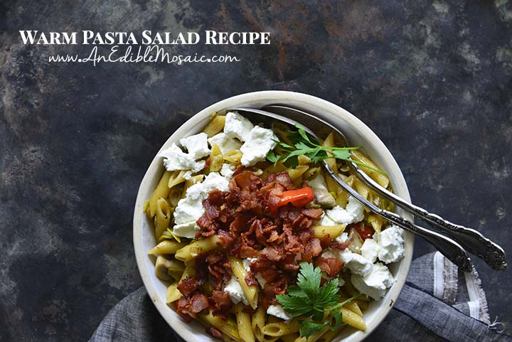 Warm Pasta Salad Recipe