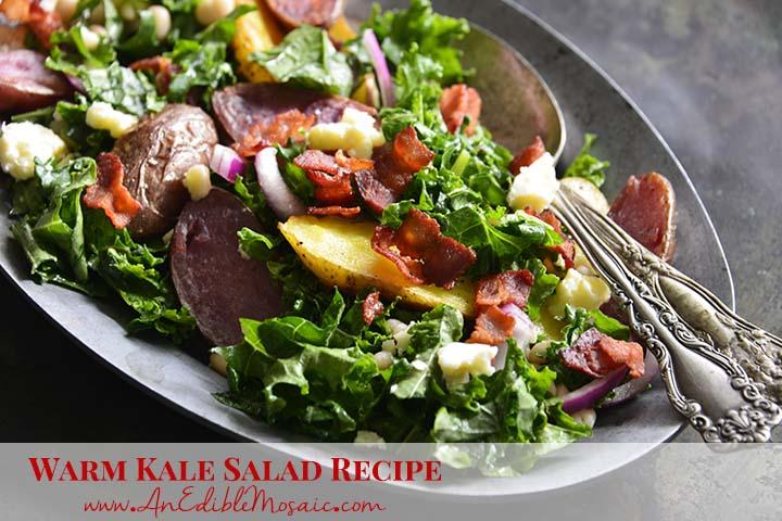 Warm Kale Salad Recipe with Description