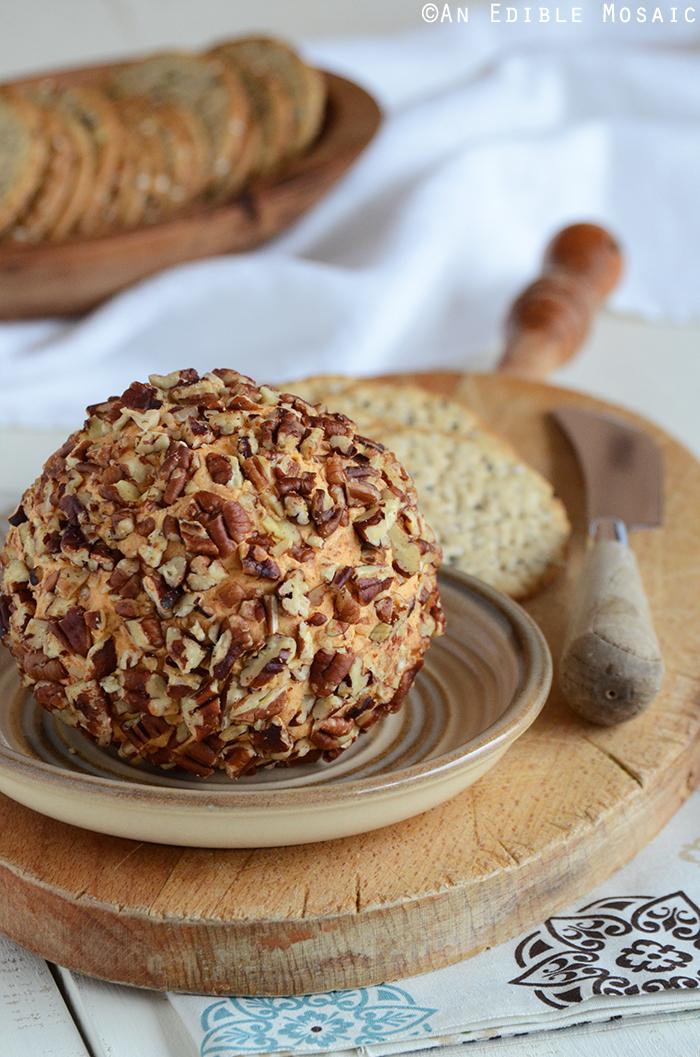 Cheddar Cheese Ball Appetizer {aka Cheddar Pub Spread}