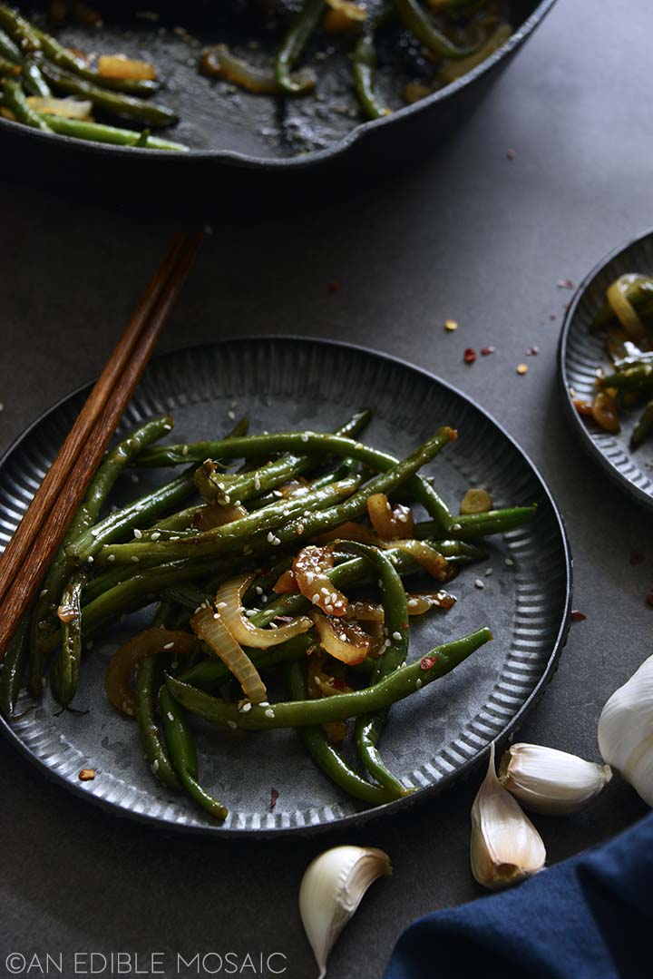 Best Garlic Green Beans