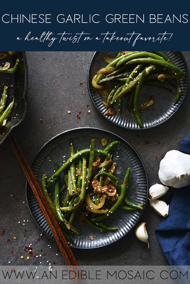 Chinese Garlic Green Beans Graphic