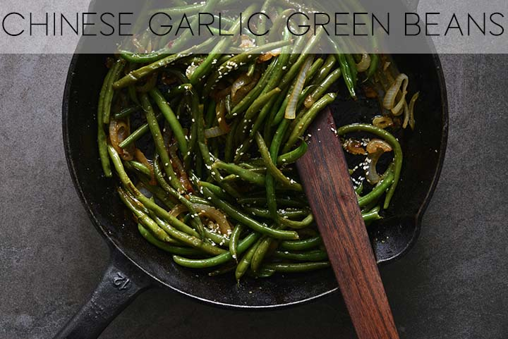 Chinese Green Beans with Description