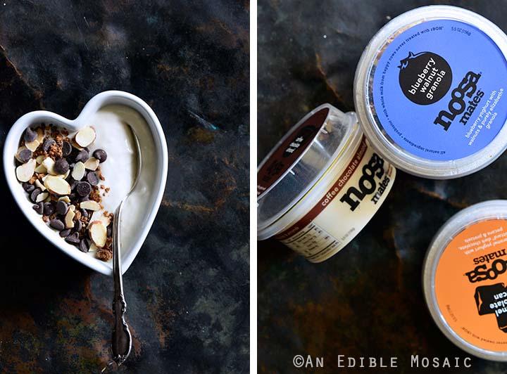 Coffee Chocolate Almond Noosa Yoghurt