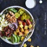 Keto BBQ Chicken Salad Bowl