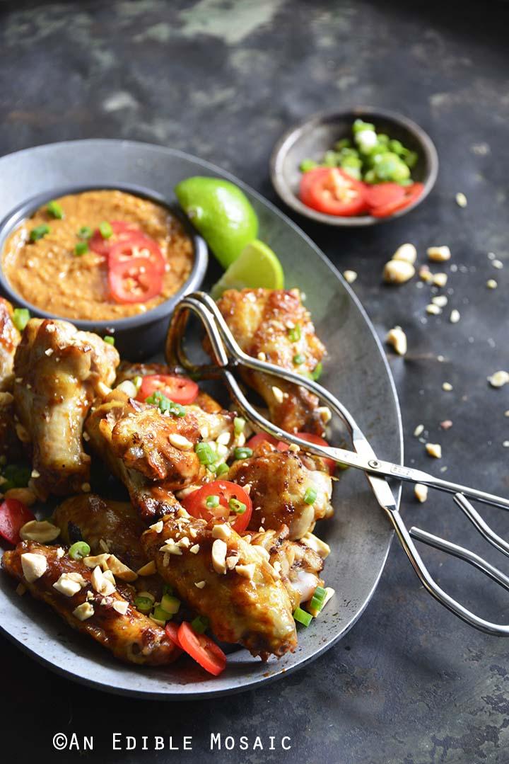Honey Glazed Chicken Wings Recipe