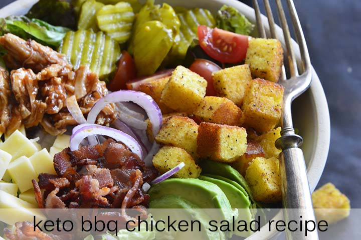Keto BBQ Chicken Salad Recipe with Description