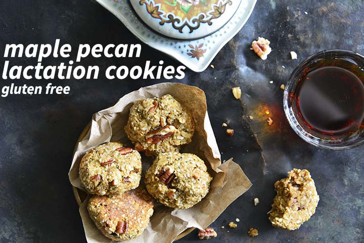 Maple Pecan Lactation Cookies with Description