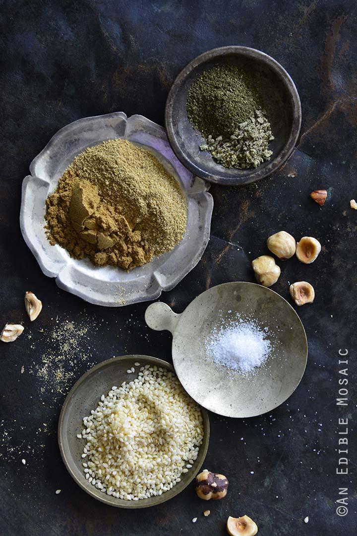 Dukkah Spice Mix Ingredients