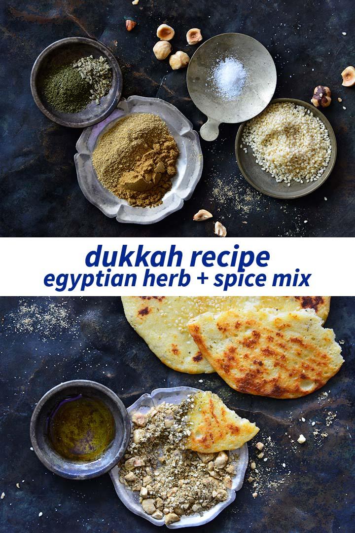 Dukkah Recipe Pin