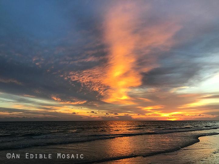 Sunset at St Pete Beach Florida