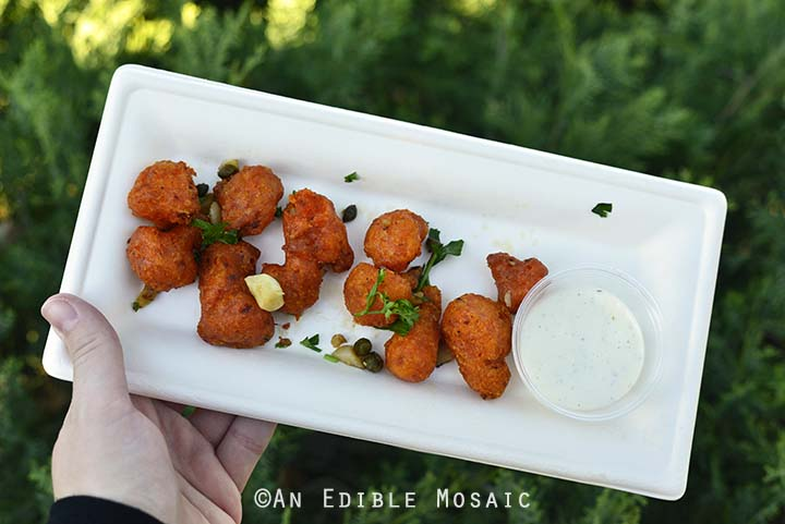 Fried Cauliflower from Taste of Marrakesh