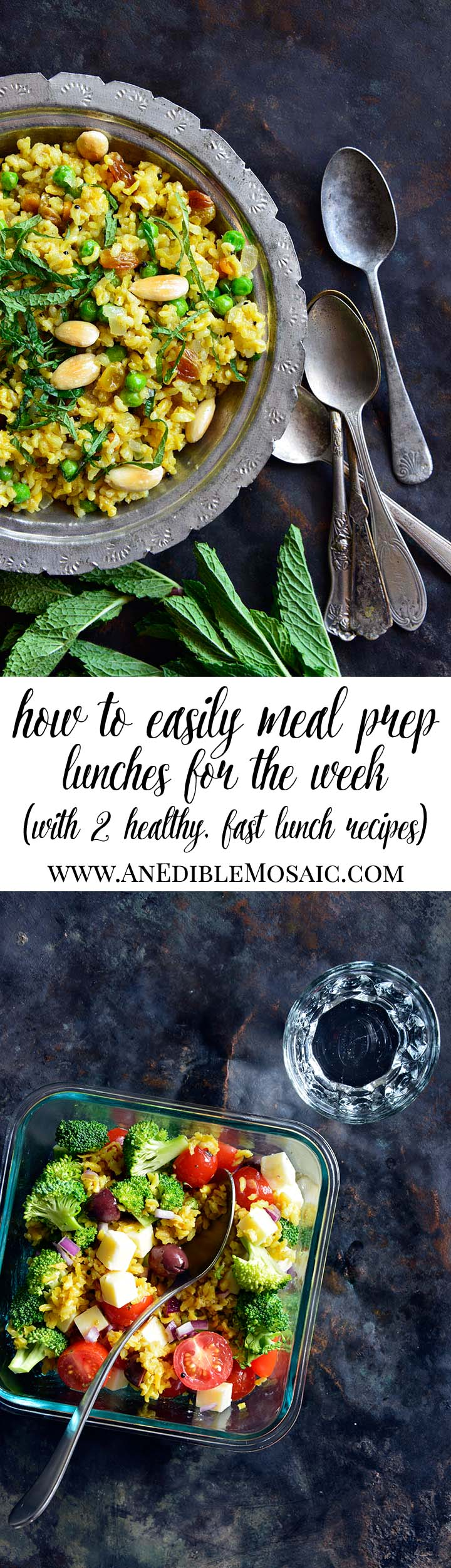 How to Easily Meal Prep Healthy Lunches for the Week