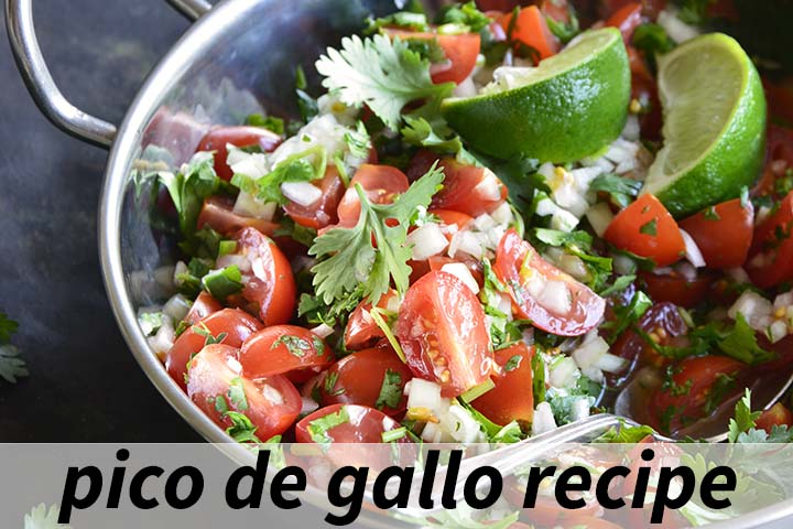Pico de Gallo Recipe with Description