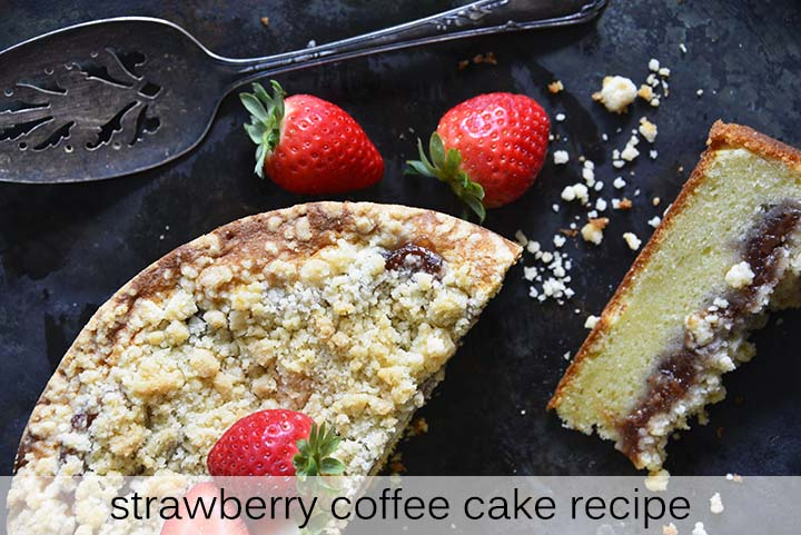 Strawberry Coffee Cake Recipe with Description