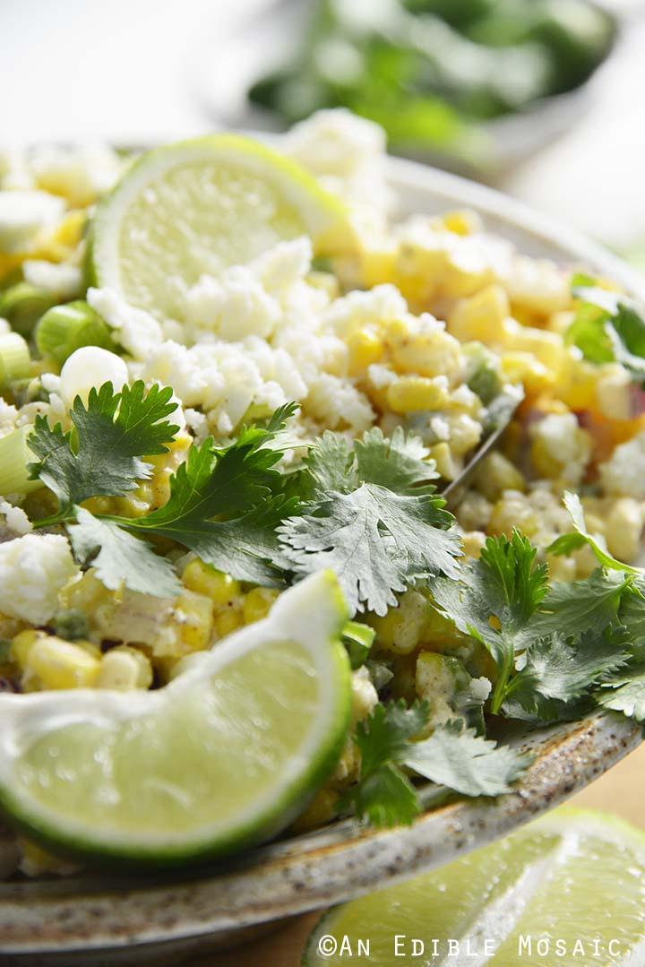 Easy Mexican Corn Salad