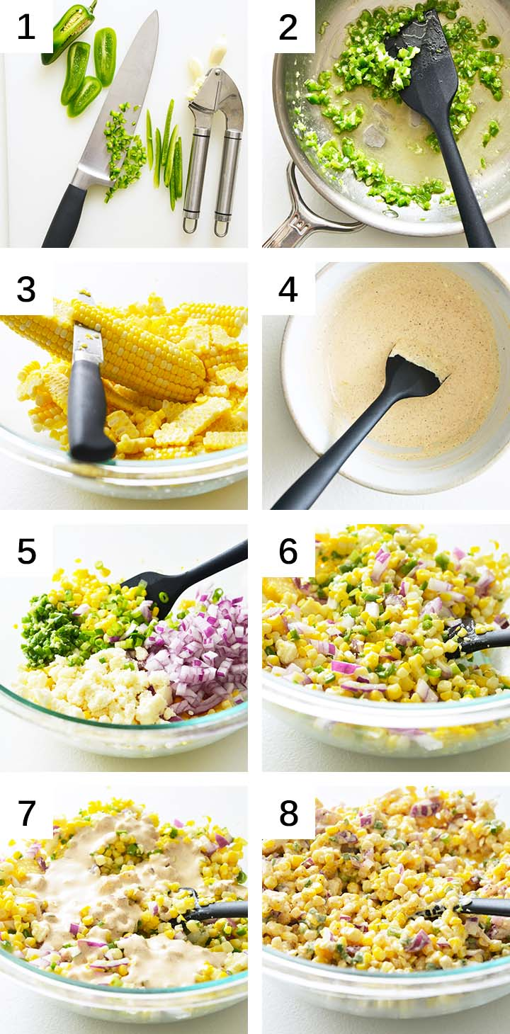 How to Make Mexican Corn Salad