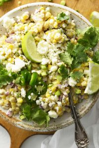 Mexican Corn Salad Recipe Featured Image