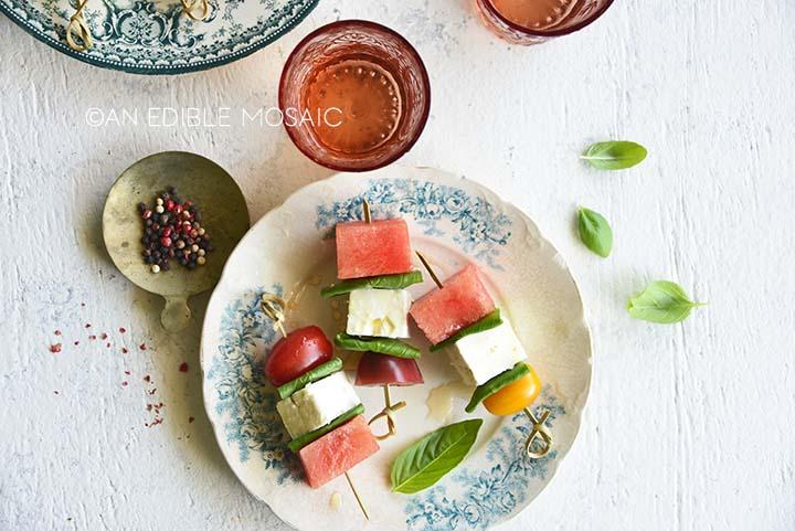 watermelon skewers recipe