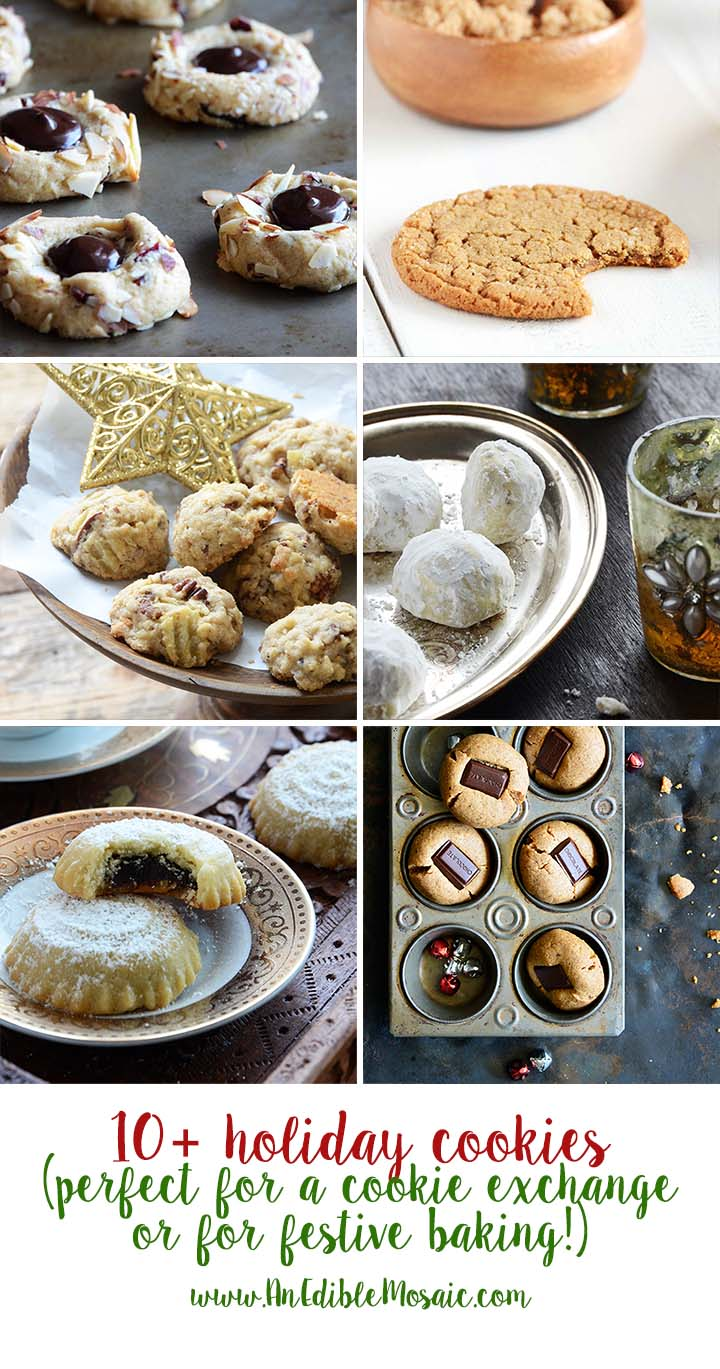 10+ Holiday Cookies Perfect for a Cookie Exchange or Festive Baking