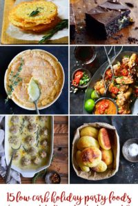 15 Low Carb Holiday Party Foods