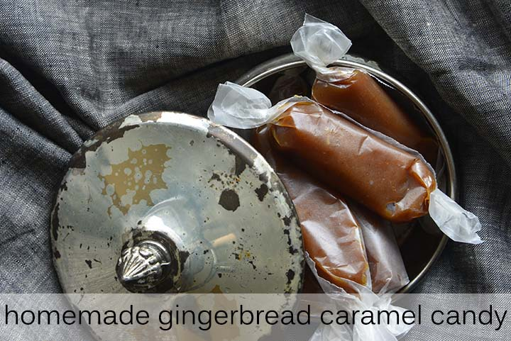 Chewy Gingerbread Caramel with Description