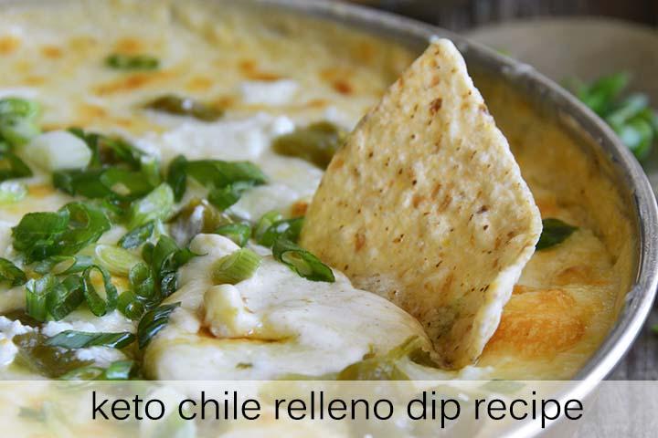 Keto Chile Relleno Dip Recipe with Description