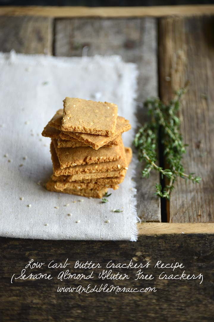 Low Carb Butter Crackers Recipe with Description