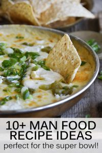 Man Food Recipes Pin