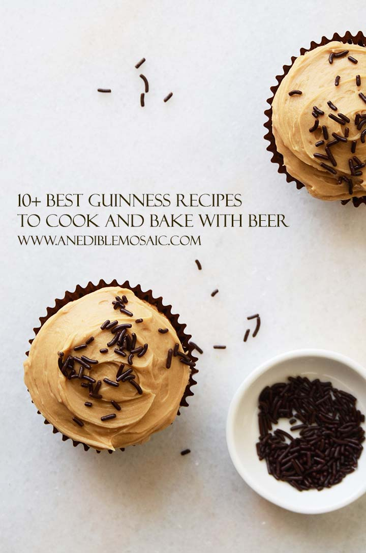 10+ Best Guinness Recipes to Cook and Bake with Beer Pin