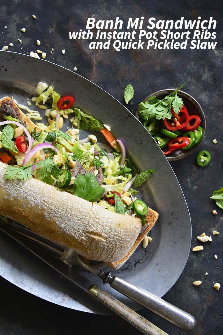 Banh Mi Sandwich Pin