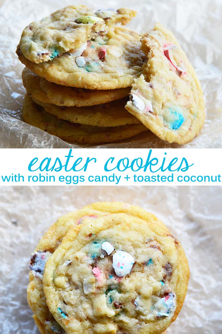 Easter Cookies Recipe Pin