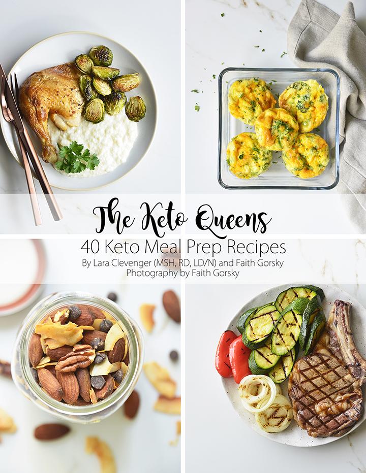 Cover of 40 Keto Meal Prep Recipes Ebook