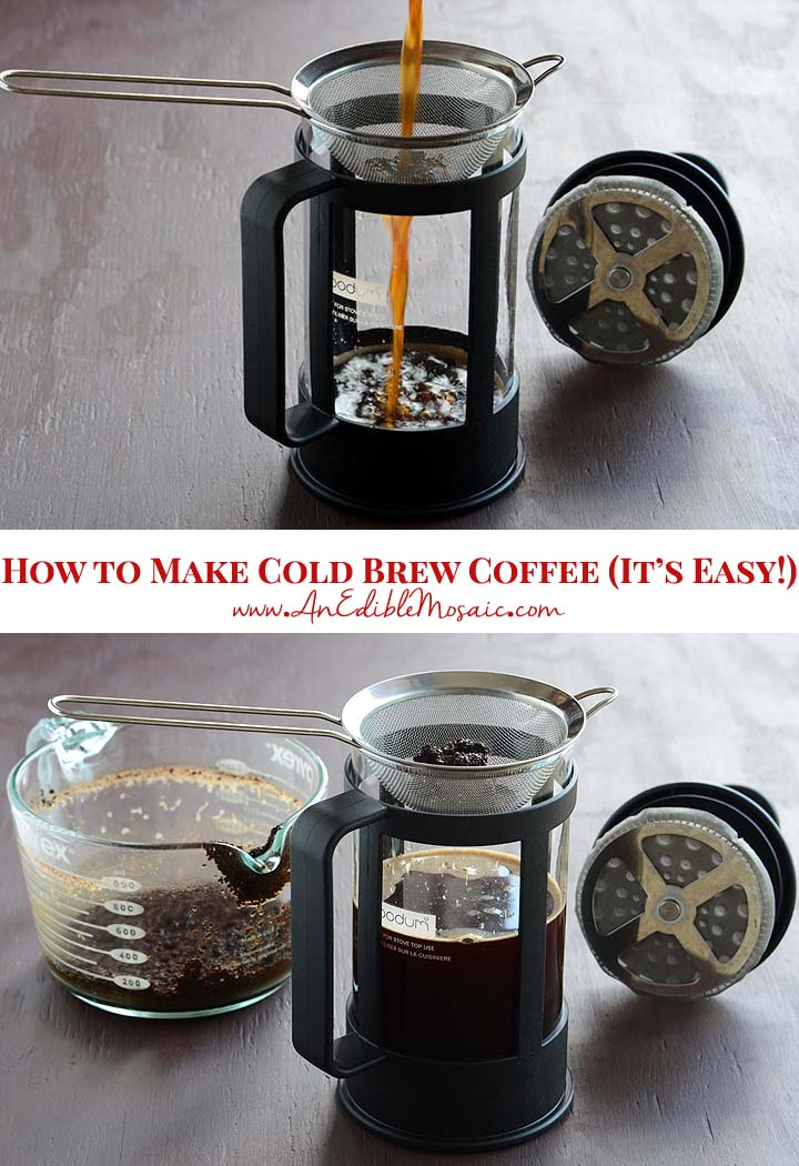 How to Make Cold Brew Coffee (It's Easy!)