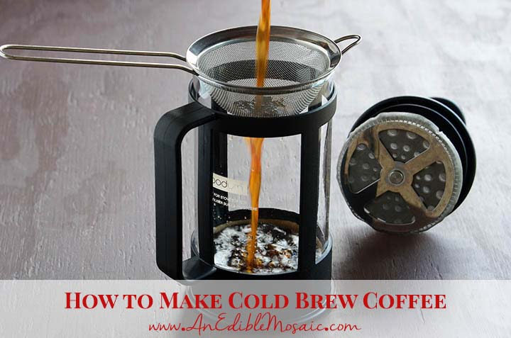 How to Make Cold Brew Coffee with Description