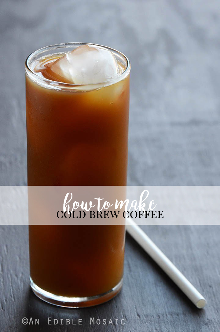 How to Make Cold Brew Coffee Pin